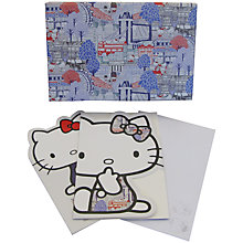 Buy Hello Kitty For Liberty Art London Diecut Notecards, Pack of 15 Online at johnlewis.com