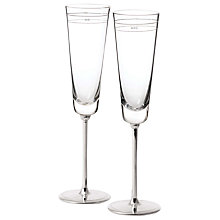 Buy kate spade new york Darling Point Champagne Flutes, Set of 2 Online at johnlewis.com