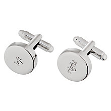 Buy kate spade new york Silver Street Cufflinks Online at johnlewis.com