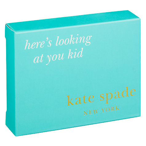 Buy kate spade new york Silver Street Here's Looking at you, Kid Pocket Photo Frame Online at johnlewis.com