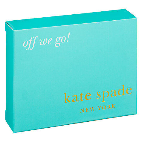 Buy kate spade new york Street Off We Go Keyring, Silver Online at johnlewis.com