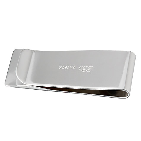 Buy kate spade new york Silver Street Nest Egg Money Clip Online at johnlewis.com