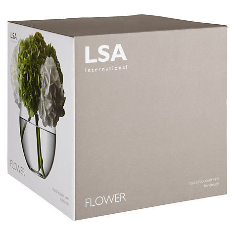 Buy LSA Flower Bouquet Globe Vase, H22cm Online at johnlewis.com