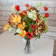 Buy LSA Flower Garden Bouquet Barrel Vase Online at johnlewis.com