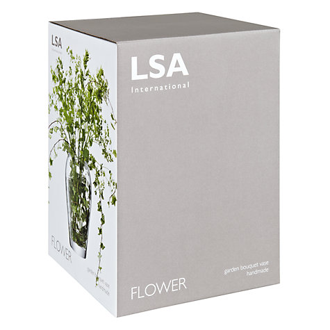 Buy LSA International Flower Garden Bouquet Barrel Vase Online at johnlewis.com