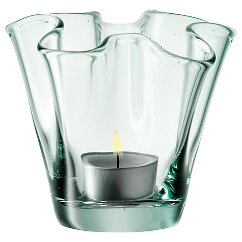 Buy LSA Fiord Tealight Holder, H8cm Online at johnlewis.com