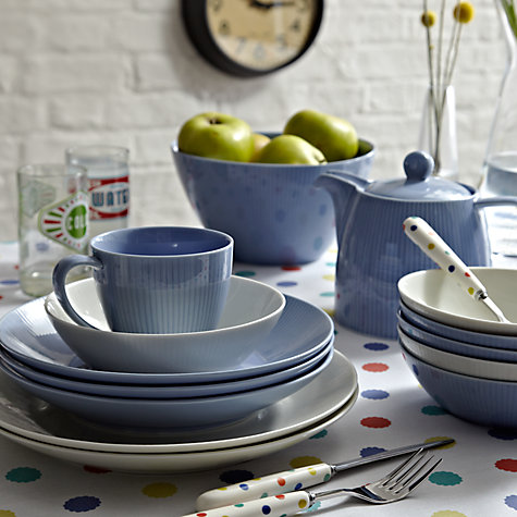Buy House by John Lewis Rimmed Pasta Plate, Dia.27.5cm Online at johnlewis.com