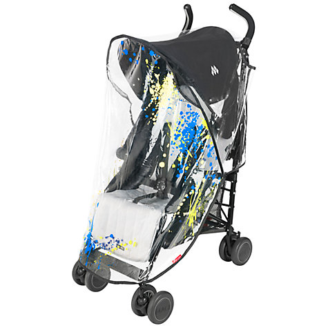 Buy Maclaren Printed Raincover, Paint Splatter Online at johnlewis.com