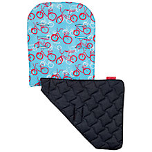 Buy Maclaren Bicycle Reversible Seat Liner, Pool Blue Online at johnlewis.com