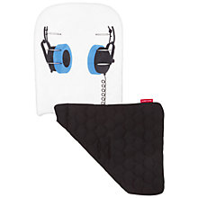 Buy Maclaren Headphones Reversible Seat Liner, Black/White Online at johnlewis.com