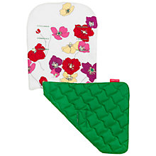 Buy Maclaren Floral Reversible Seat Liner, Green/Multi Online at johnlewis.com