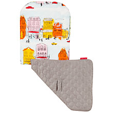 Buy Maclaren Rue Principale Reversible Seat Liner, Grey/Multi Online at johnlewis.com
