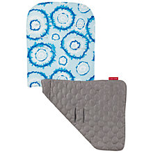 Buy Maclaren Tie Dye Reversible Seat Liner, Blue/Grey Online at johnlewis.com