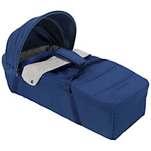 Buy Maclaren Techno XLR Carrycot, Medieval Blue Online at johnlewis.com
