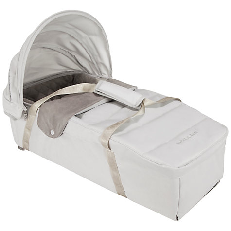 Buy Maclaren Techno XLR Carrycot, Silver Online at johnlewis.com