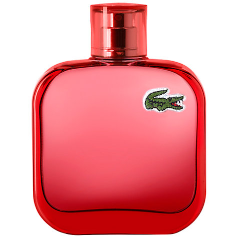 Buy Lacoste Eau de Lacoste L.12.12 Rouge Eau de Toilette, 100ml Online at johnlewis.com