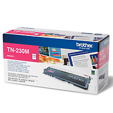 Buy Brother TN230M Toner 1400yld, Magenta Online at johnlewis.com