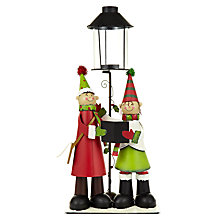 Buy John Lewis Carol Singer Tealight Lantern Online at johnlewis.com