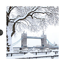 Buy Dark Room Snow Scenes Christmas Cards, Box of 16 Online at johnlewis.com