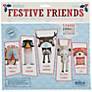 Mibo Festive Friends Christmas Decorations, Multi