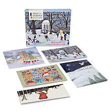 Buy Paperhouse Help For Heroes Charity Christmas Cards, Box of 20 Online at johnlewis.com