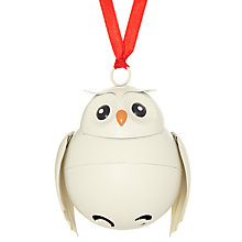 Buy John Lewis Metal Bell Owl Tree Decoration Online at johnlewis.com