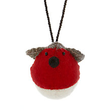 Buy Scandi-chic Felt Hanging Robin, Mini Online at johnlewis.com