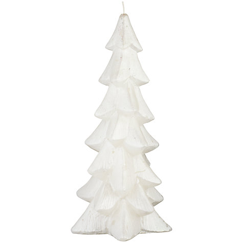 Buy John Lewis Winterland Tree Candle Online at johnlewis.com