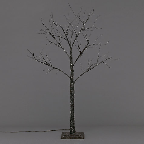 Buy John Lewis Prelit Glitter Paper Tree, 4ft Online at johnlewis.com