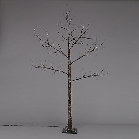 Buy John Lewis Prelit Glitter Paper Tree, 7ft Online at johnlewis.com