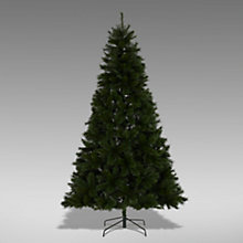 Buy John Lewis Fireside Christmas Tree, Green, 9ft Online at johnlewis.com