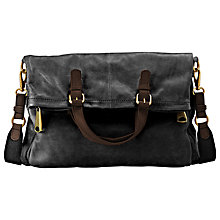 Buy Fossil Explorer Tote Handbag, Black Online at johnlewis.com