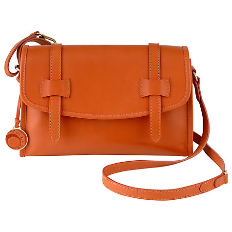 Buy Ochre Blue Cleo Small Across Body Handbag Online at johnlewis.com
