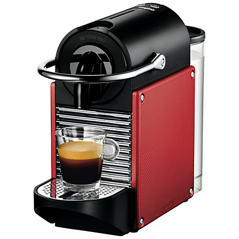 Buy Nespresso Pixie Carmin Coffee Maker by Magimix, Red Online at johnlewis.com