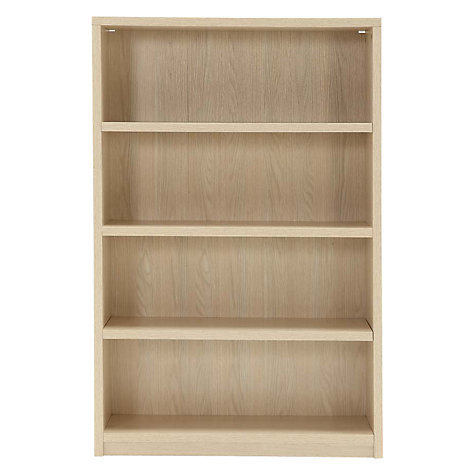 Buy John Lewis Mitchell Bookcase, H122cm Online at johnlewis.com