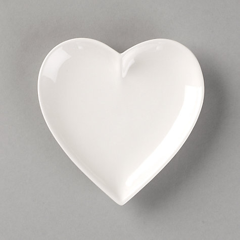Buy John Lewis Heart Shaped Ceramic Dish Online at johnlewis.com
