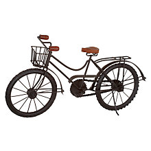 Buy John Lewis Decorative Bicycle, Large Online at johnlewis.com