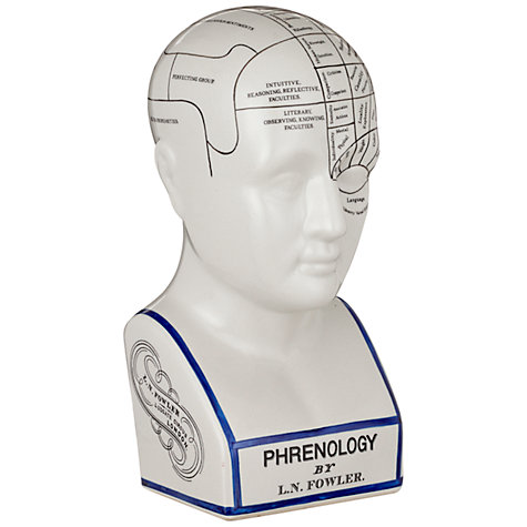 Buy John Lewis Phrenology Head Large Online at johnlewis.com