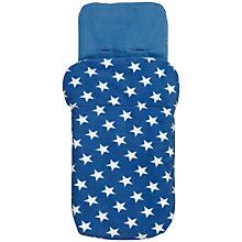 Buy John Lewis Baby Star Footmuff, Blue Online at johnlewis.com