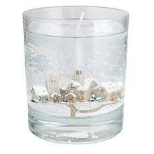Buy Stoneglow Winter Scene Gel Candle, Medium Online at johnlewis.com
