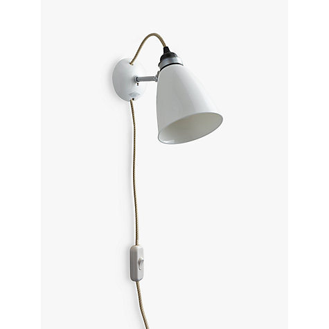 Buy Original BTC Hector Dome Wall Light, Medium Online at johnlewis.com