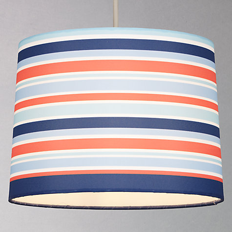 Buy little home at John Lewis Easy-to-fit New Kendal Boys Pendant, Blue Online at johnlewis.com