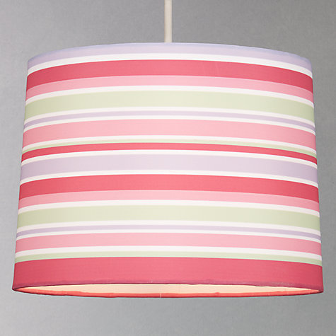 Buy little home at John Lewis New Kendal Girls Pendant, Pink Online at johnlewis.com