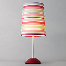 Buy little home at John Lewis New Kendal Girls Table Lamp, Pink Online at johnlewis.com