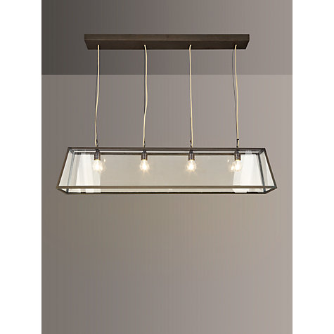 Buy Davey Lighting Triangular Diner Box Ceiling Light Online at johnlewis.com