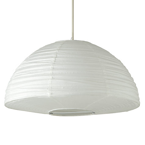Buy House by John Lewis Easy-to-fit Trudy Paper Dome Ceiling Lamp, Dia. 45cm Online at johnlewis.com