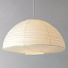Buy House by John Lewis Easy-to-fit Trudy Paper Dome Ceiling Lamp Online at johnlewis.com