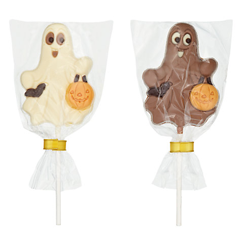 Buy Natalie Chocolates Ghost Chocolate Lollies, 30g, Assorted Online at johnlewis.com