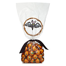 Buy Foiled Chocolate Pumpkins and Bat Pick, 200g Online at johnlewis.com