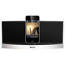 Buy Philips AD620 Bluetooth iPod/iPhone Dock, Silver Online at johnlewis.com
